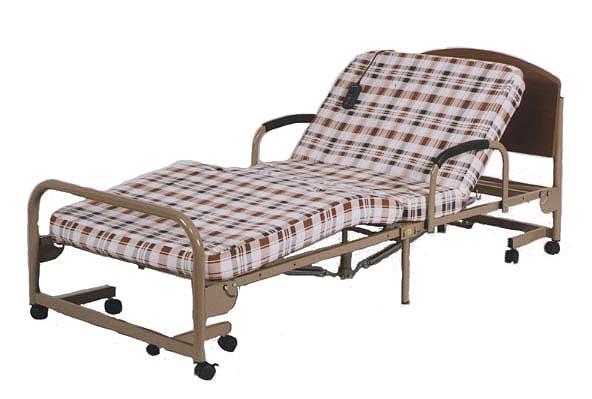 折りたたみ電動介護ベッド 1モーター激安大特価