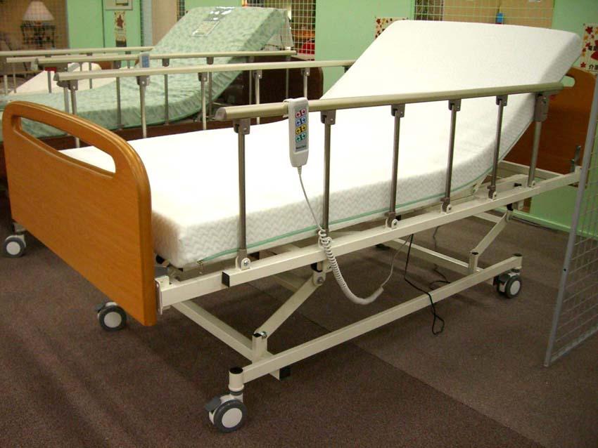 電動介護ベッド3モーター ...